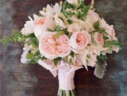 复古粉色系列新娘手捧花