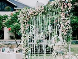 清新自然婚礼现场图片 户外婚礼