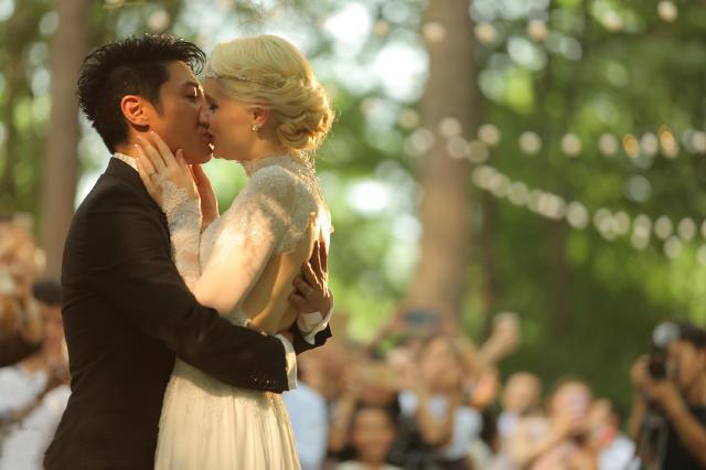 撒贝宁武汉婚礼,撒贝宁婚礼现场照片