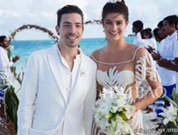 巴西超模伊莎贝莉·芳塔娜婚礼现场