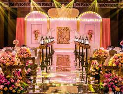 旋转木马的甜蜜爱情 粉红色婚礼