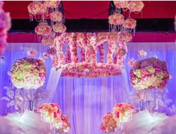 云裳花海 浪漫室内婚礼图片