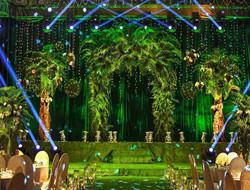 爱意盎然 室内绿色婚礼