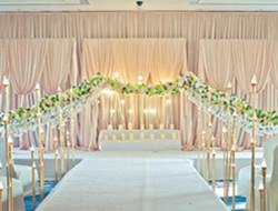 温馨婚礼布置 室内婚礼