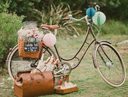 创意环保婚礼 自行车主题婚礼