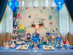 海底世界主题婚礼 蓝色婚礼