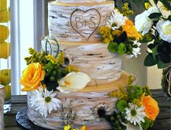 森系婚礼蛋糕图片欣赏