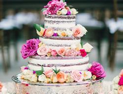 浪漫翻糖婚礼蛋糕 大气蛋糕
