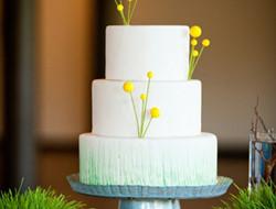 小清新婚礼蛋糕图片