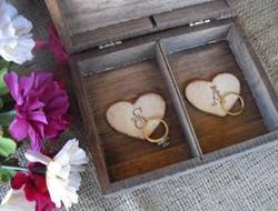 浪漫盒子样式枕戒 不一样的灵感
