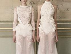 不同风格短款新娘礼服为婚礼增色