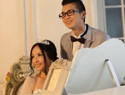 浪漫爱情婚礼 羽毛长拖婚纱衬托美丽新娘留住最美的你