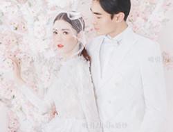 冬季清新韩系婚纱照