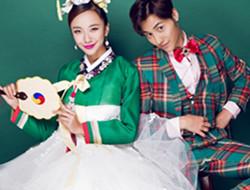 欢喜冤家 韩式古装婚纱照