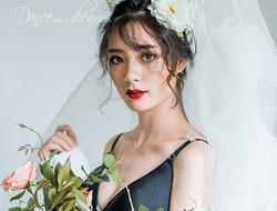 典雅清新婚纱照 等待爱