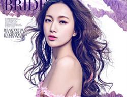 紫色绣衣 高贵典雅写真
