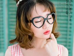 粉色女郎 可爱玫瑰写真