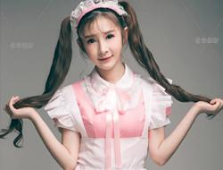 少女的女仆装 可爱写真