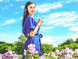 花海浪漫写真 女孩写真