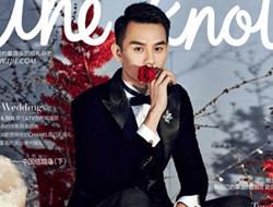 王凯披婚纱登时尚封面 靖王演绎红玫瑰白玫瑰