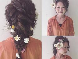 新娘发型 盘发头饰