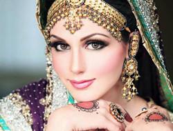 做最美艳的新娘 印度新娘妆容