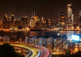 璀璨繁华的城市夜景图片(11张)