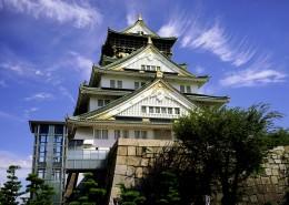日本大阪城公园城市风景图片(9张)
