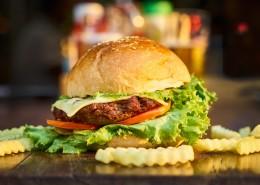 诱人的汉堡包图片(10张)