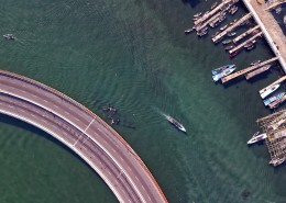 航拍码头图片(11张)