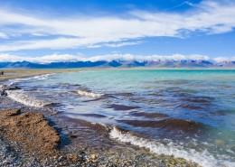 西藏羊卓雍措自然风景图片(9张)