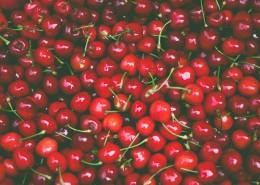 鲜红欲滴的樱桃图片(14张)