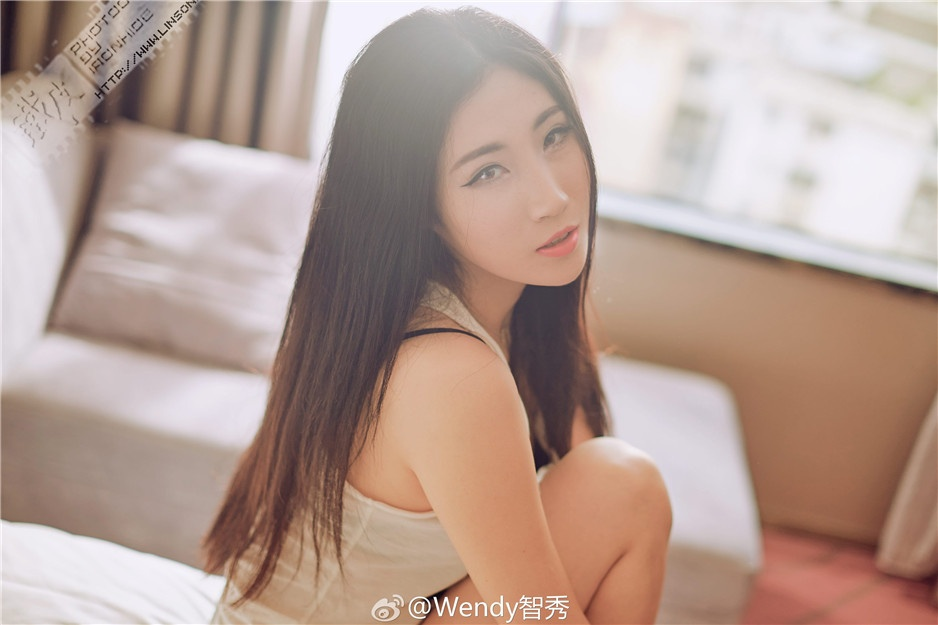 中国90后模特Wendy智秀微博私房写真