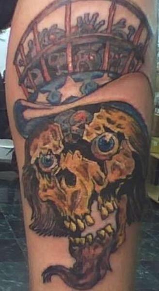 僵尸叔叔的纹身