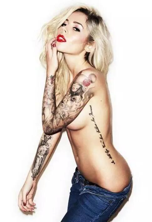 美女性感纹身图片大全
