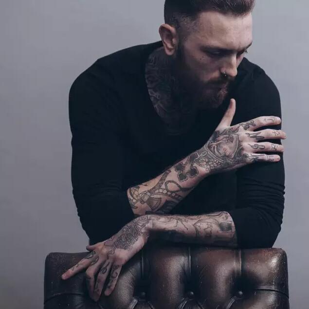 欧美时尚经典纹身图案