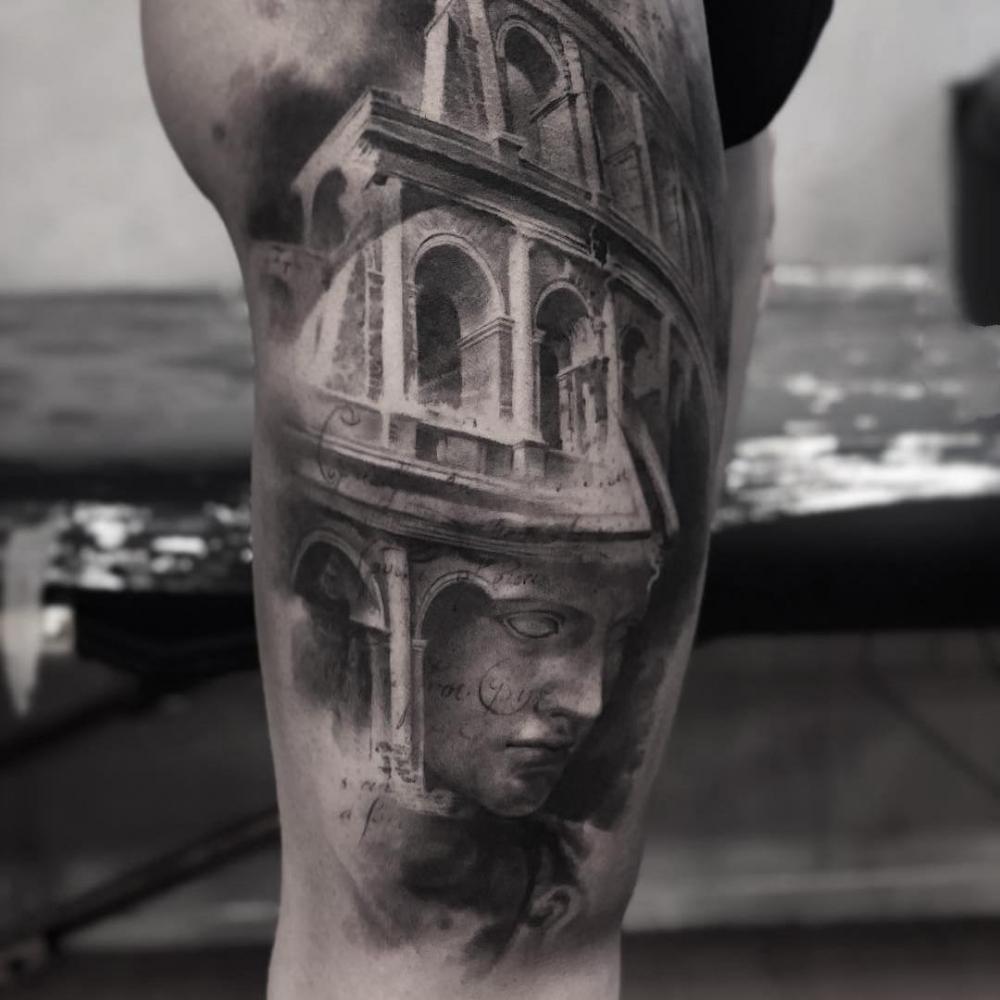手臂纹身图片创意纹身图案