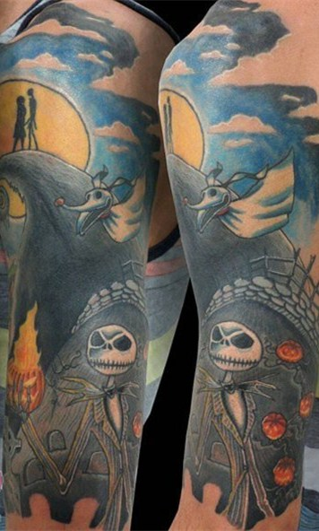万圣节纹身图案   多款个性十足的万圣节纹身图案