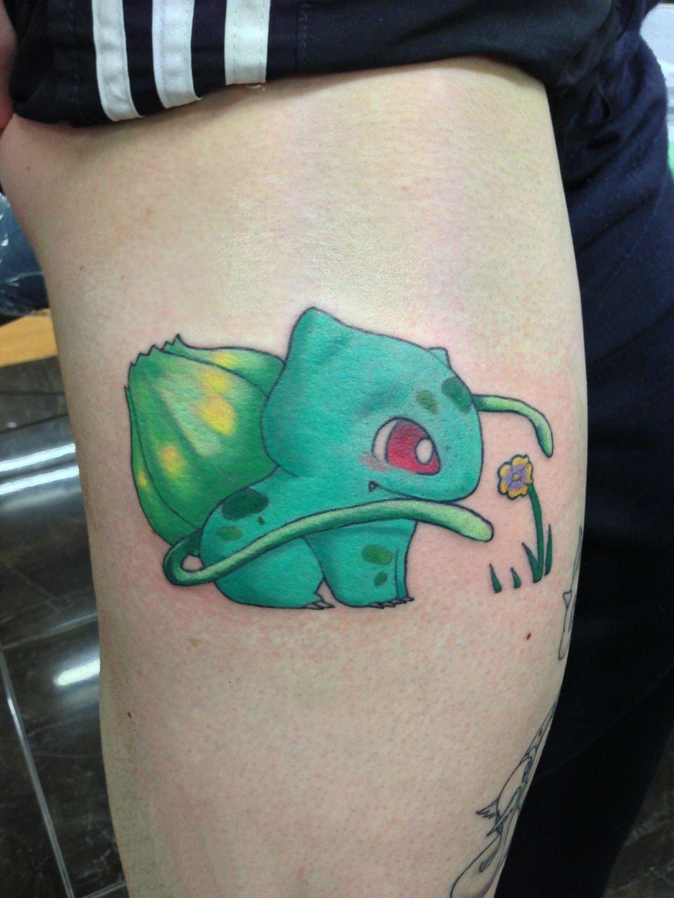 神奇宝贝纹身  可爱的彩绘卡通神奇宝贝纹身图案