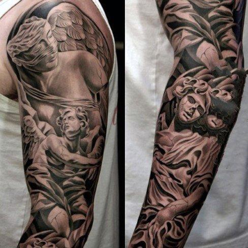 男性时尚纹身   多款男生手臂上的时尚纹身图案