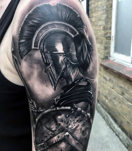盾牌纹身图案   坚固牢靠的盾牌纹身图案