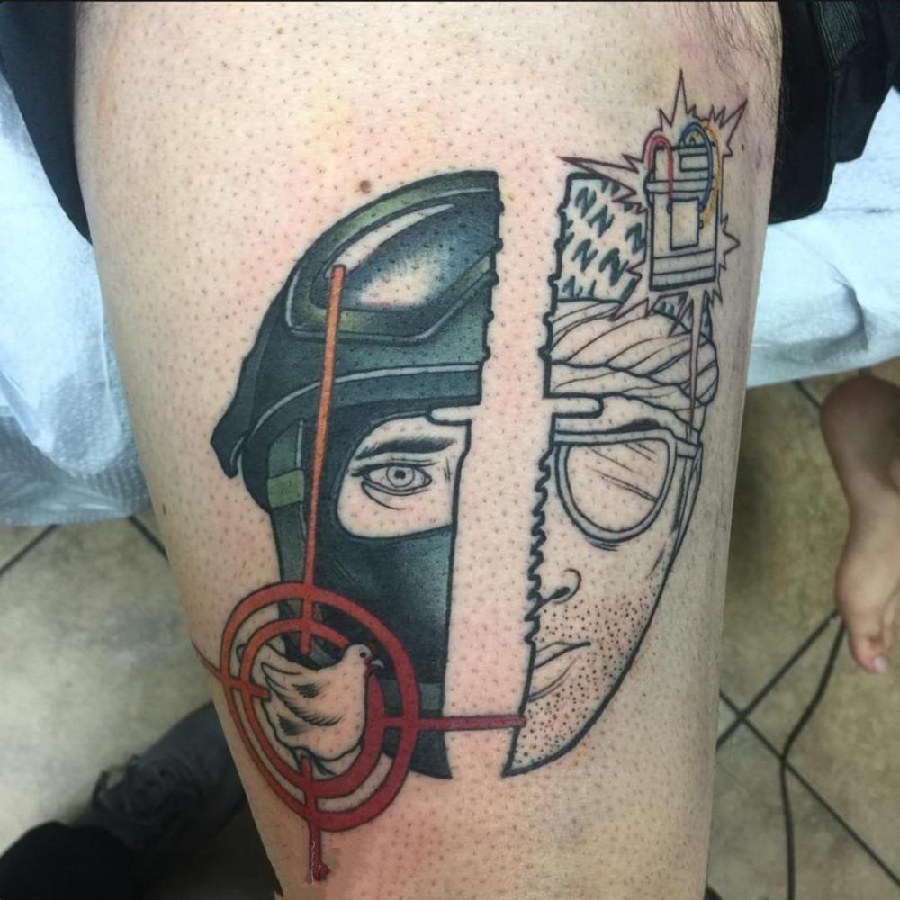 经典纹身图案-经典反恐精英纹身图案