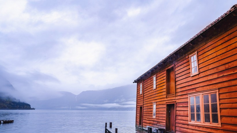 挪威峡湾自然风景图片(9张)