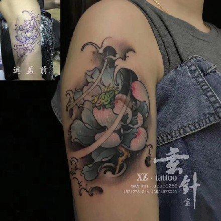 上海纹身-上海玄针刺青-店内近日纹身小图