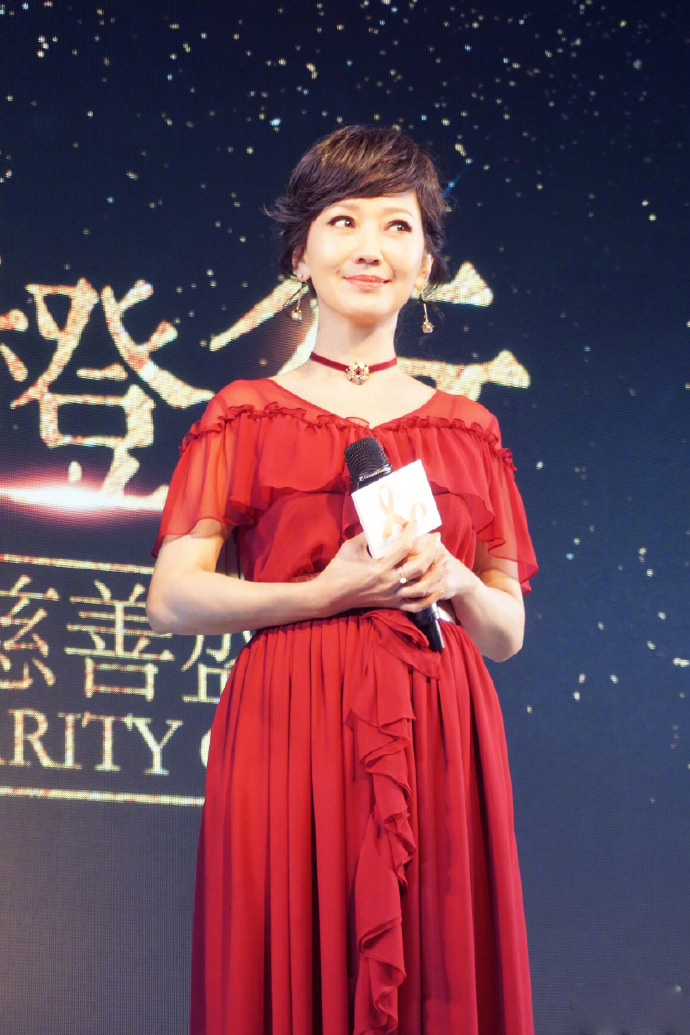 赵雅芝慈善公益活动优雅迷人写真图片