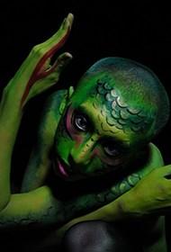 神秘西方模特人体艺术写真