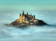 德国霍亨索伦城堡风景壁纸图片