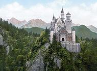 德国美丽新天鹅城堡风景图片欣赏