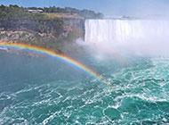加拿大旅游风景尼亚加拉大瀑布图片