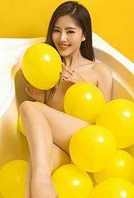 平面模特李昔雨时尚人体艺术写真